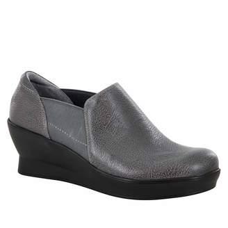 Alegria by PG Lite Fraya Wedge(Women's) -Grey Glaze Leather Discount Wholesale Price vKHGc7