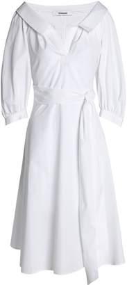 Chalayan Belted Cotton-poplin Shirtdress