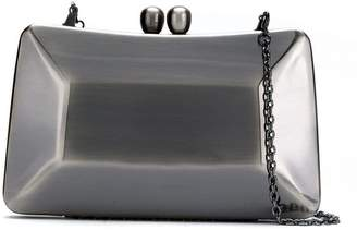 Serpui metallic clutch