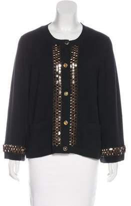 Chanel Paris-Byzance Embellished Cardigan