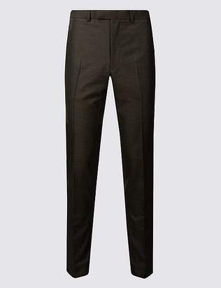 Marks and Spencer Charcoal Modern Slim Fit Trousers
