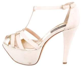 Giambattista Valli T-Strap Platform Sandals
