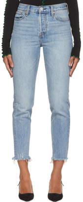 Levi's Levis Blue Wedgie Jeans