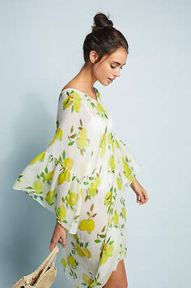 Pool' Pool to Party Lemon Squeeze Caftan