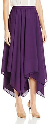 James & Erin Women's Handkerchief Hem Skirt
