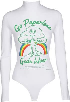 Gcds Printed Bodysuit