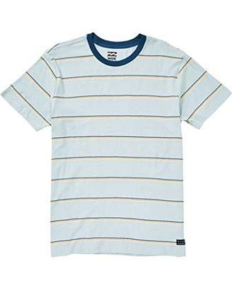 Billabong Men's Die Cut Stripe Short Sleeve Crew Shirt