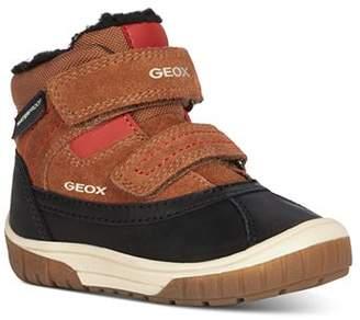 Geox Boys' B Omar Waterproof Suede Boots - Walker