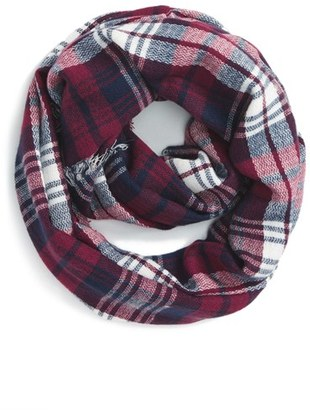 BP. 'Heritage' Plaid Infinity Scarf $25 thestylecure.com