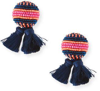 Mignonne Gavigan Sloane Stud Earrings w/ Tassels