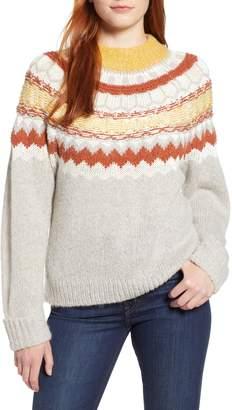 Caslon Chunky Jacquard Sweater