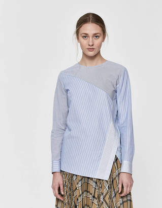 TOMORROWLAND Long Sleeve Asymmetric Blouse