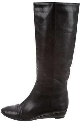 Loeffler Randall Leather Knee-High Boots