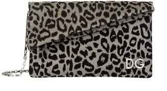 Dolce & Gabbana Leopard Print Clutch Bag