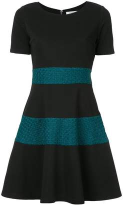 GUILD PRIME knitted panel dress