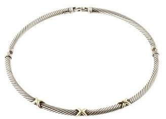 David Yurman X Cable Necklace
