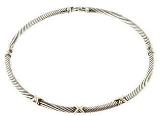 David Yurman X Cable Necklace
