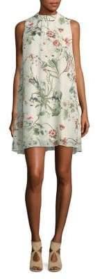 Molly Bracken Botanical-Print Shift Dress