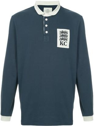 Kent & Curwen three lion patch polo shirt