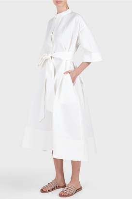 Creatures of Comfort Byron Cotton Belted Dress