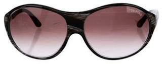 Tom Ford Liya Marbled Sunglasses