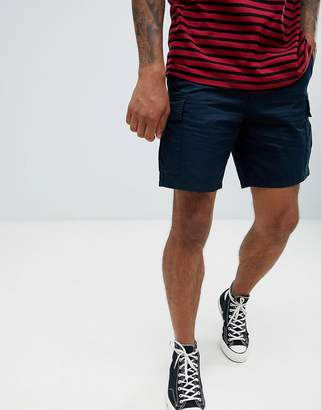 Weekday norman cargo shorts navy
