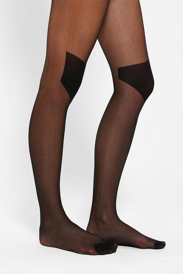 Urban Outfitters Sheer Knee Pad Tight