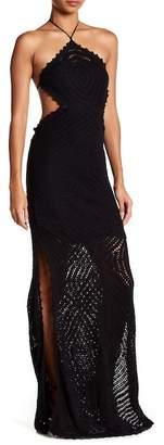 Sky Yanenowi Crochet Maxi Dress
