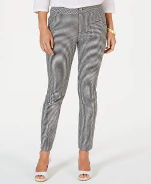 Charter Club Mid-Rise Slim-Leg Pants, Created for Macy's