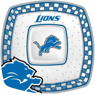 Memory Company Detroit Lions Gameday Ceramic Chip & Dip Plate