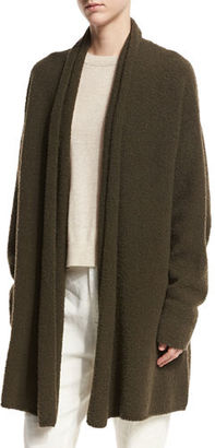 Vince Textured Shawl Cardigan, Off White $465 thestylecure.com