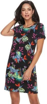 Apt. 9 Women's Cuffed T-Shirt Dress