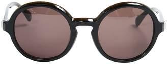 Calvin Klein Khaki Plastic Sunglasses