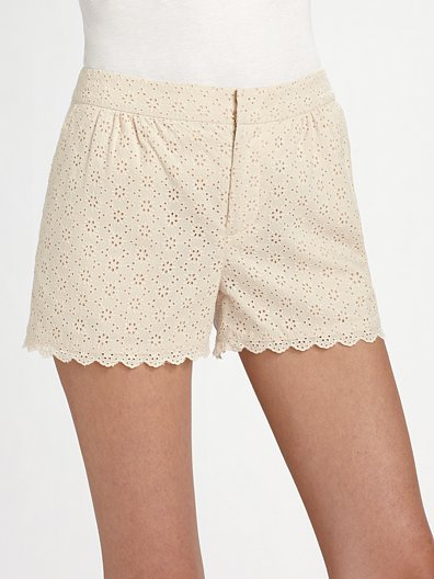 Marc by Marc Jacobs Effie Eyelet Shorts