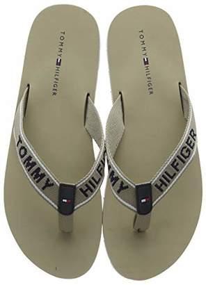 038dbf4ba3c3 Tommy Hilfiger Women s Sporty Flat Beach Sandal Flip Flops