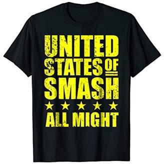 Smash Wear United States Of All Might Plus TShirt