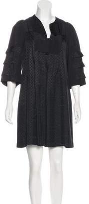 Mayle Patterned Mini Dress