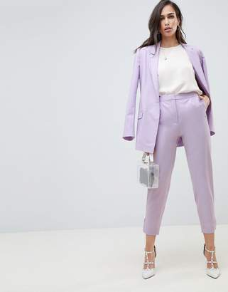Asos Design DESIGN tailored lilac occasion trouser