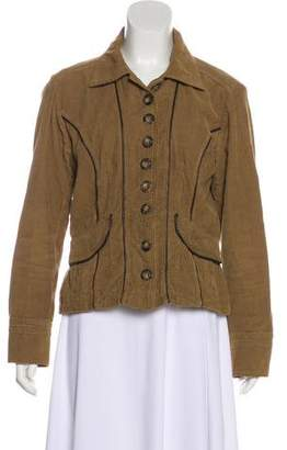 Dolce & Gabbana Collared Corduroy Jacket