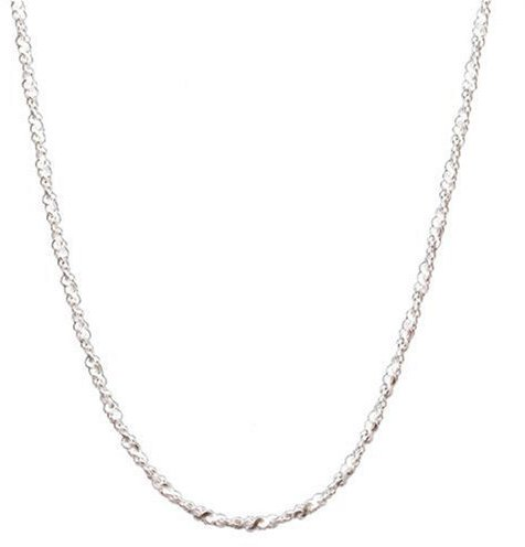 Sterling Silver Twisted Serpentine Chain