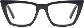 Quay x Desi Perkins Don't At Me 50mm Blue Light Blocking Optical Glasses