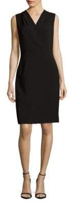 Lafayette 148 New York Graceton Solid Sleeveless Dress
