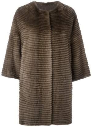 Liska cashmere loose fit coat