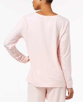 Hue Super Soft Pajama Long Sleeve Top