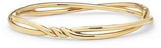 David Yurman Continuance Center Twist Bracelet in 18K Gold