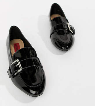 London Rebel Pointed Flat Shoes