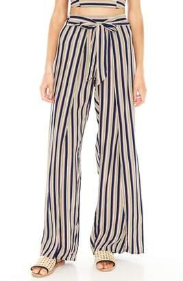 Faithfull The Brand Tiki Tiki Stripe Wide Leg Pants