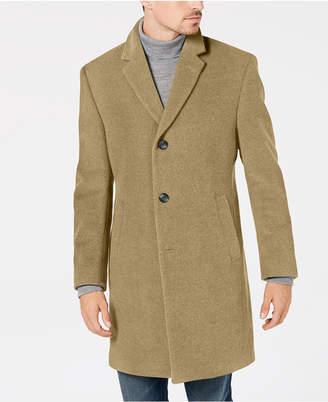 Nautica Men's Classic/Regular Fit Wool Blend Solid Overcoat