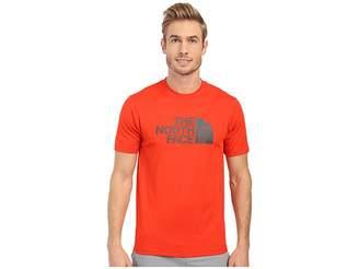 The North Face Short Sleeve Sink or Swim Rashguard (Fiery Red/Asphalt Grey