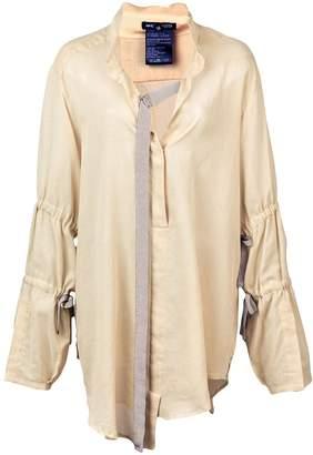 Ann Demeulemeester buckle ribbon blouse